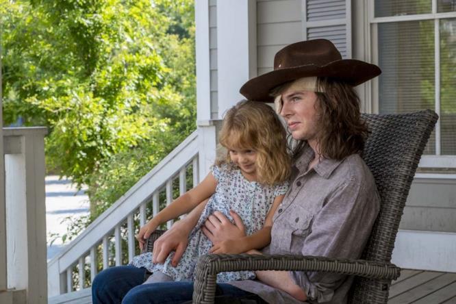 Carl in compagnia di Judith