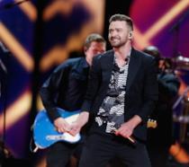 Immagine di Justin Timberlake in concerto