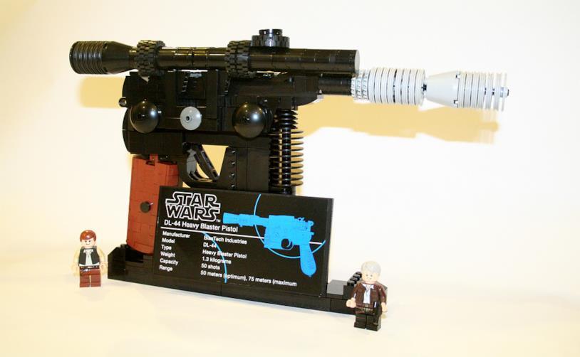 Il Blaster di Han Solo in LEGO