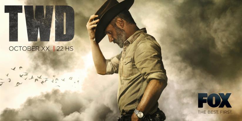 The Walking Dead: Rick nel poster d'addio dell'episodio 5