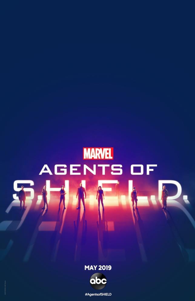 I protagonisti della stagione 6 di Agents of S.H.I.E.L.D. nel poster ufficiale