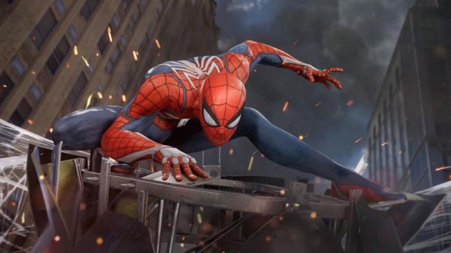 Spider-Man videogioco PS4