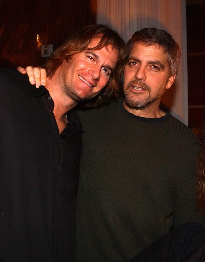 Un vecchio scatto di Rande Gerber e George Clooney