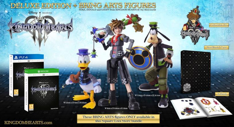 Kingdom Hearts III in uscita il 29 gennaio 2019