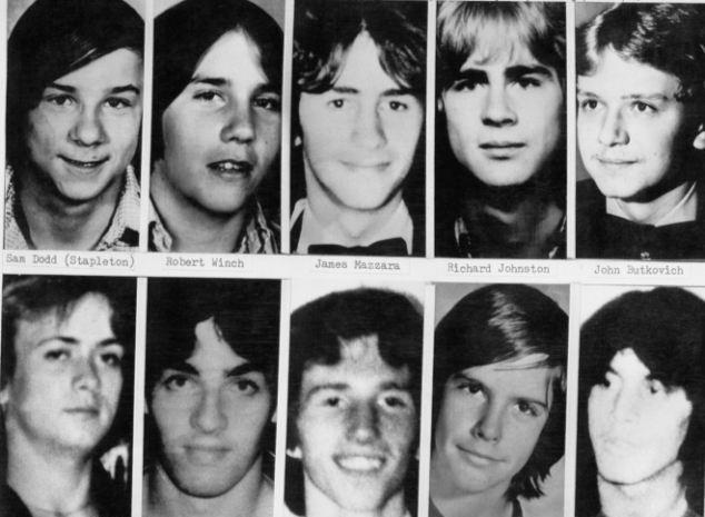 Le foto di alcune vittime di John Wayne Gacy