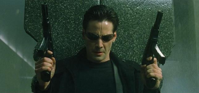 L'attore Keanu Reeves
