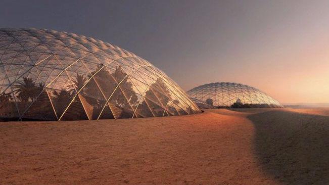 Marte a Dubai