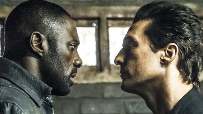 Idris Elba e Matthew McConaughey in La Torre Nera