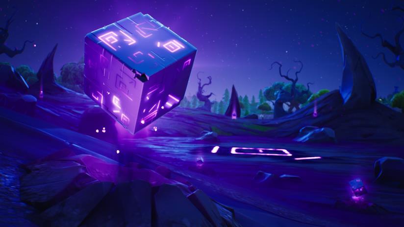 Kevin è il misterioso cubo viola di Fortnite
