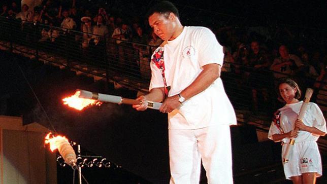 Muhammad Alì alle Olimpiadi 96