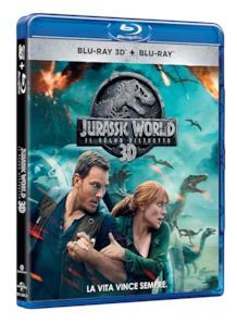Il Blu-ray 3D di Jurassic World: Il regno distrutto