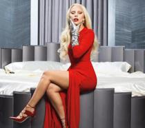Lady Gaga nei panni della Contessa, la protagonista di American Horror Story: Hotel.