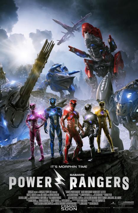 Gli zord e i Power Rangers schierati per combattere Rita