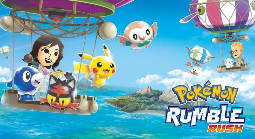 Immagine promozionale di Pokémon Rumble Rush