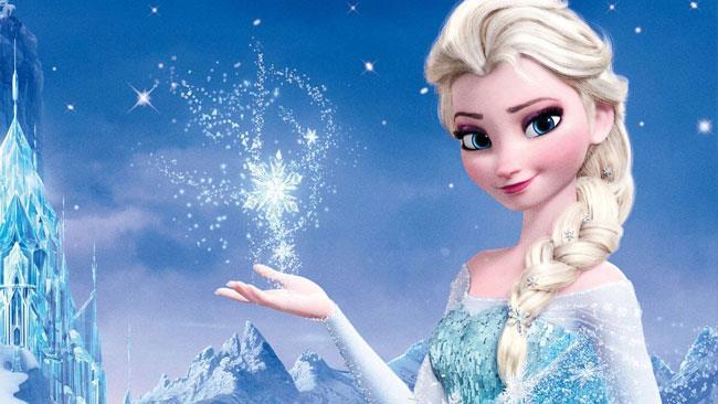 Elsa, la regina dei ghiacci di Frozen