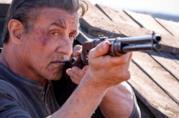 Sylvester Stallone in una scena del trailer di Rambo: Last Blood
