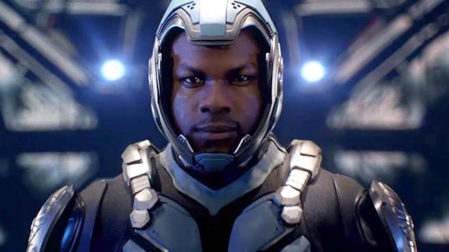 John Boyega nel ruolo di Jake Pentecost