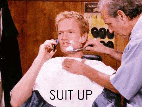Barney non indossa l'abito solo 12 volte in tutte le 9 stagioni della serie