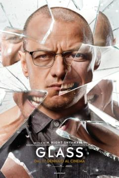 Glass: il character poster con Kevin Wendell Crumb (James McAvoy)