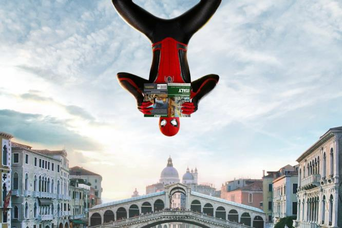 Spider-Man visita Venezia in un nuovo poster di Far From Home