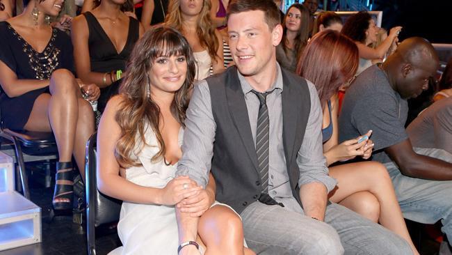 Lea Michele e Cory Monteith felici a un evento ufficiale