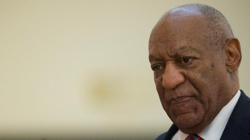 Bill Cosby in aula al processo contro di lui