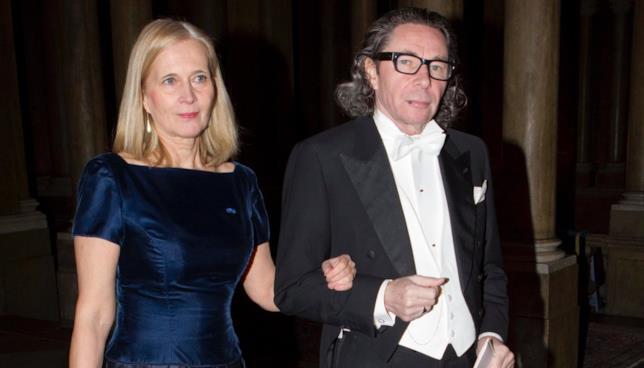 Katarina Frostensson e Jean Claude Arnault a un evento