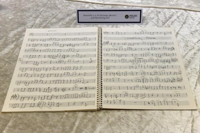 Spartito musicale di John Lennon