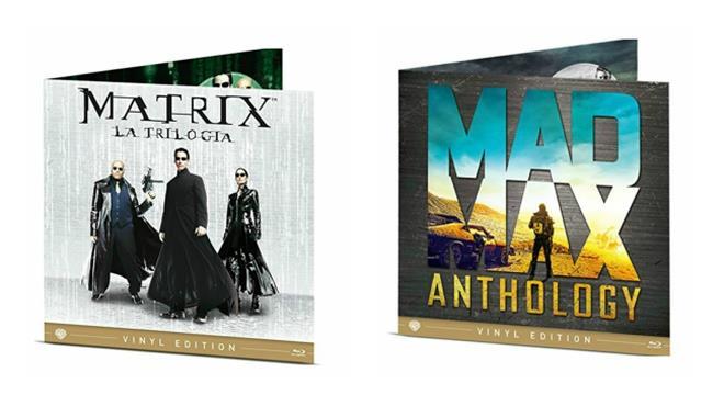 Le Vinyl Edition di Matrix e Mad Max