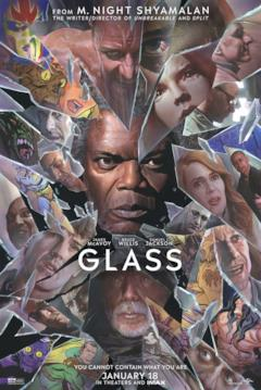 Il poster statunitense coi protagonisti di Glass