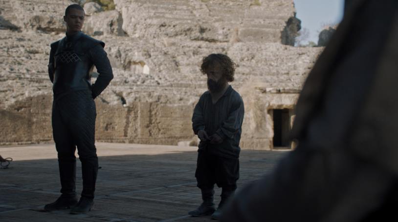 Una scena da Game of Thrones 8x06