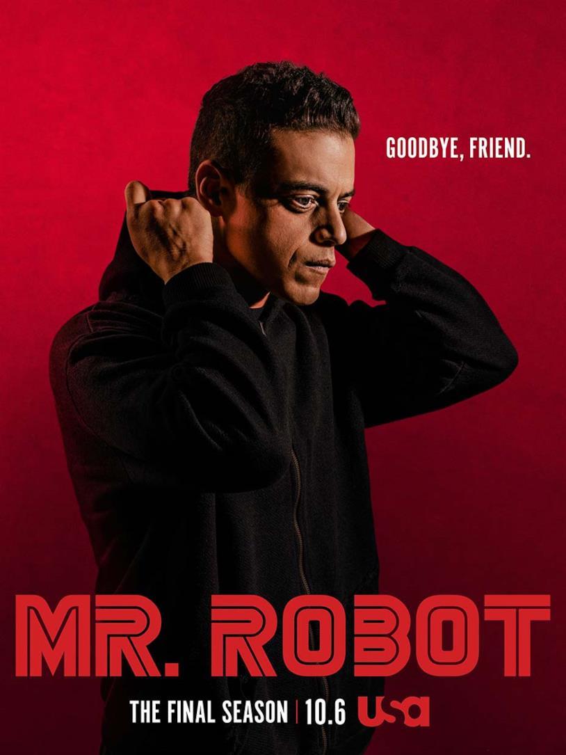 Il poster della quarta stagione della serie TV Mr. Robot
