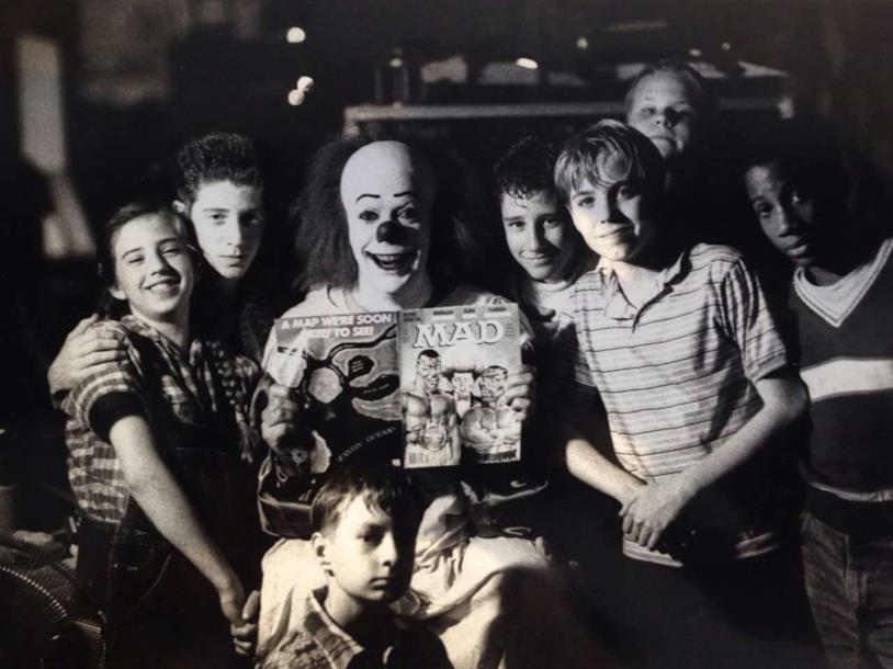 Il clown Pennywise e il Club dei Perdenti