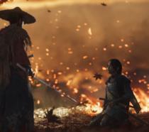 il samurai protagonista di Ghost of tsushima