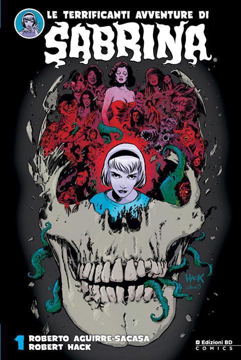 La cover del primo volume de Le Terrificanti Avventure di Sabrina