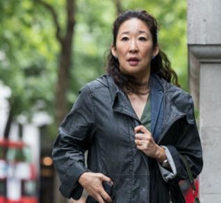 Sandra Oh in Killing Eve