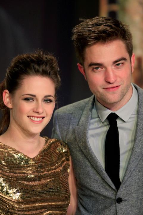 Kristen Stewart e Robert Patterson alla prima di Twilight Breaking Down.