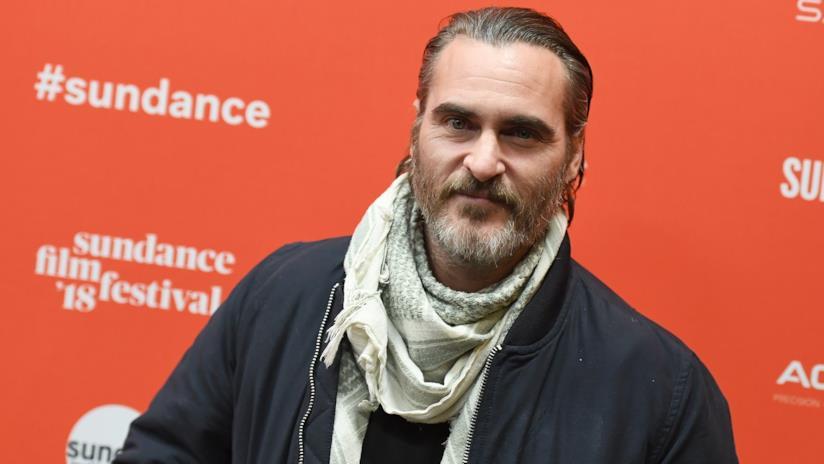 Joaquin Phoenix al Sundance Film Festival 2018