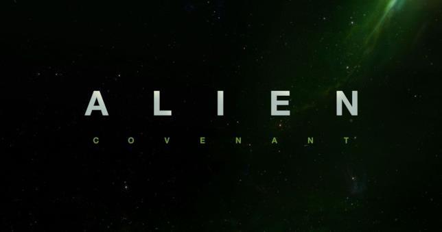 Il logo del recente Alien: Covenant