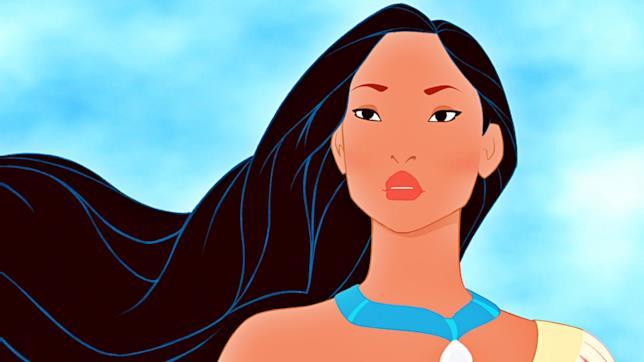 Una scena di Pocahontas