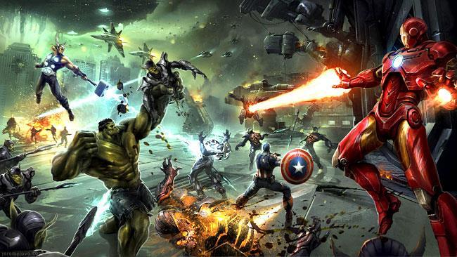 Iron Man e gli Avenger combattono gli Skrull nel videogioco cancellato