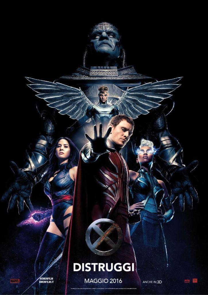 Poster del film X-Men: Apocalisse
