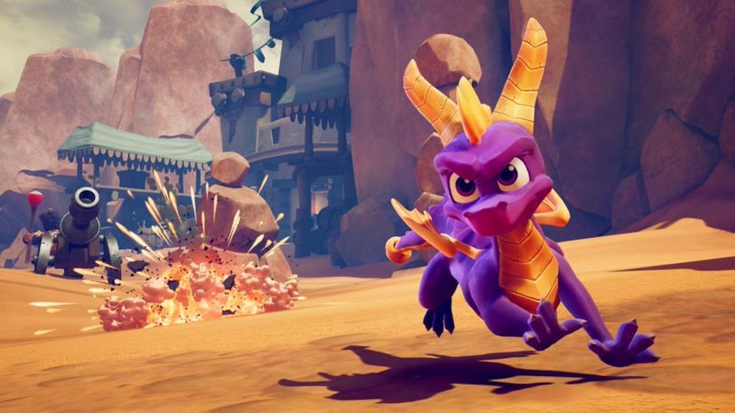 Spyro Reignited Trilogy include i primi tre capitoli della serie