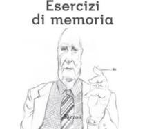 La copertina del nuovo libro di Andrea Camilleri, Esercizi di memoria