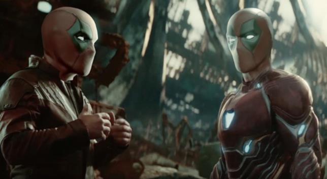 Deadpool interpreta Star-Lord e Iron Man nel trailer parodistico di Mightyraccoon!