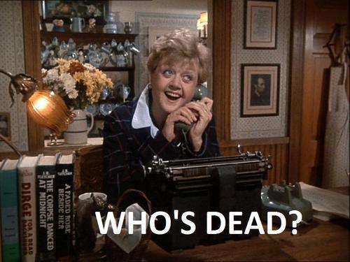 Jessica Fletcher who's dead