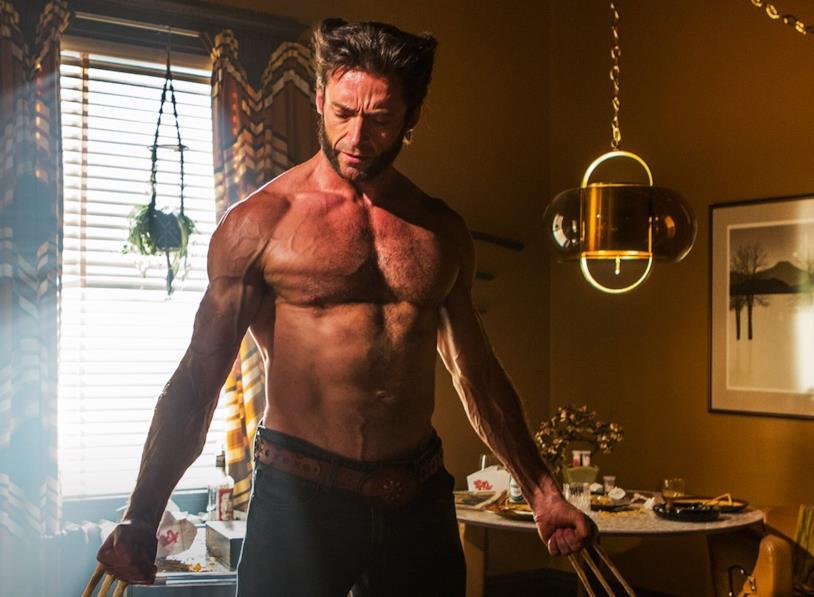 Hugh Jackman come Wolverine in X-Men - Giorni di un futuro passato