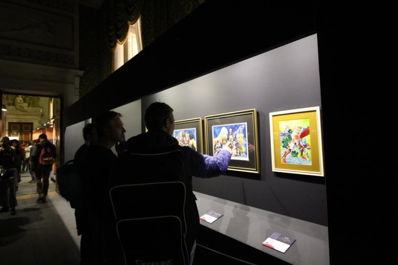Le illustrazioni di Leiji Matsumoto a Palazzo Ducale