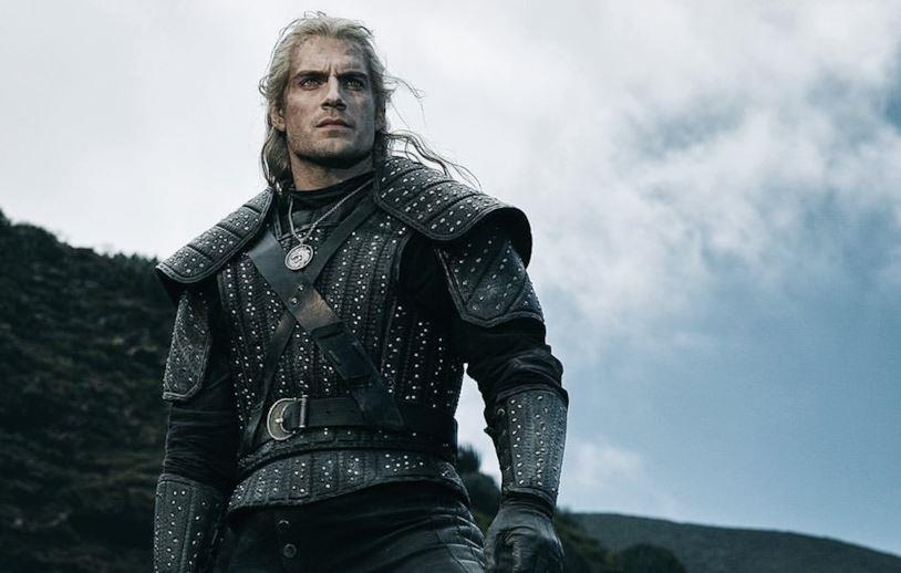 Henry Cavill nei panni di Geralt in The Witcher