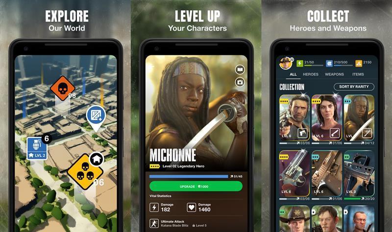 The Walking Dead: Our World per dispositivi iOS e Android